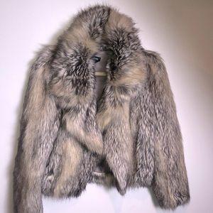 Babe. Fur fake jacket